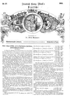 Deutsche Illustrirte Gewerbezeitung, 1863. Jahrg. XXVIII, nr 27.