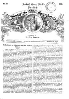 Deutsche Illustrirte Gewerbezeitung, 1863. Jahrg. XXVIII, nr 28.