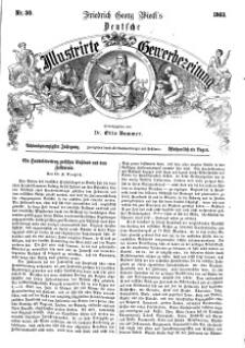 Deutsche Illustrirte Gewerbezeitung, 1863. Jahrg. XXVIII, nr 30.