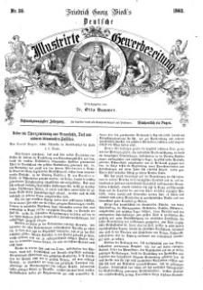 Deutsche Illustrirte Gewerbezeitung, 1863. Jahrg. XXVIII, nr 35.