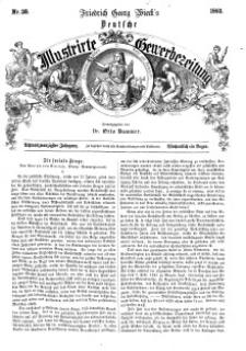 Deutsche Illustrirte Gewerbezeitung, 1863. Jahrg. XXVIII, nr 38.