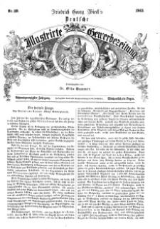 Deutsche Illustrirte Gewerbezeitung, 1863. Jahrg. XXVIII, nr 39.