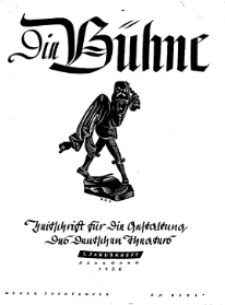 Die Bühne. Jg. 2, 1936, H. 1