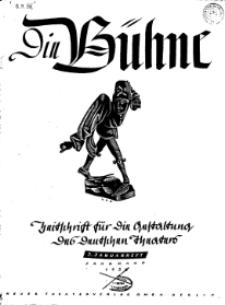 Die Bühne. Jg. 2, 1936, H. 2