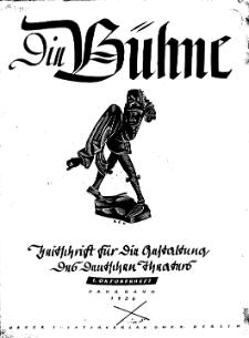 Die Bühne. Jg. 2, 1936, H. 19