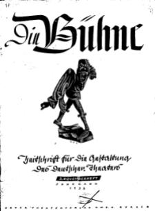 Die Bühne. Jg. 2, 1936, H. 22