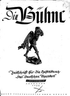 Die Bühne. Jg. 2, 1936, H. 23