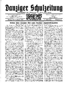 Danziger Schulzeitung, Jg. 12, 1931, Nr 8.
