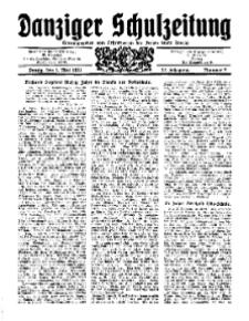 Danziger Schulzeitung, Jg. 12, 1931, Nr 9.