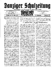 Danziger Schulzeitung, Jg. 12, 1931, Nr 10.