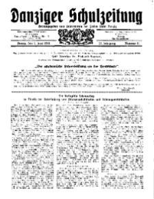 Danziger Schulzeitung, Jg. 12, 1931, Nr 11.