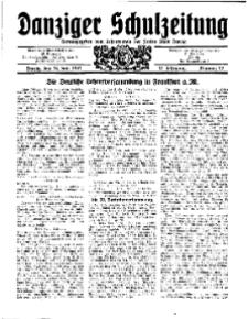 Danziger Schulzeitung, Jg. 12, 1931, Nr 12.