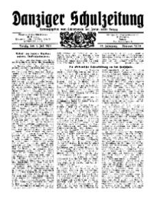 Danziger Schulzeitung, Jg. 12, 1931, Nr 13/14.