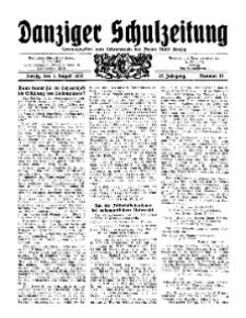 Danziger Schulzeitung, Jg. 12, 1931, Nr 15.
