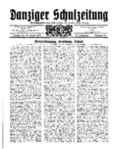 Danziger Schulzeitung, Jg. 12, 1931, Nr 16.