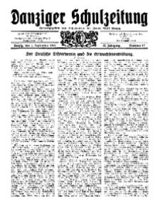 Danziger Schulzeitung, Jg. 12, 1931, Nr 17.