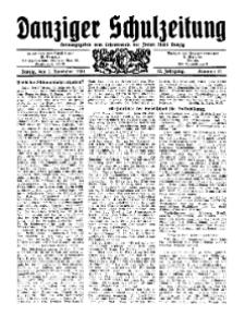 Danziger Schulzeitung, Jg. 12, 1931, Nr 21.