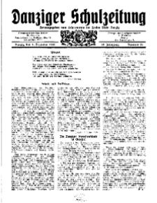 Danziger Schulzeitung, Jg. 12, 1931, Nr 23.