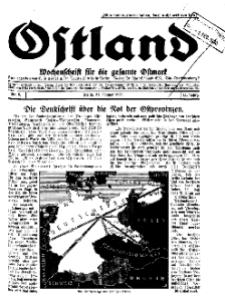 Ostland : Wochenschrift für die gesamte Ostmark, Jg. 11, 1930, Nr 5.