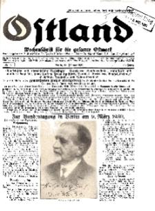Ostland : Wochenschrift für die gesamte Ostmark, Jg. 11, 1930, Nr 9.