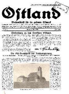 Ostland : Wochenschrift für die gesamte Ostmark, Jg. 11, 1930, Nr 13.