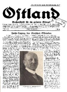 Ostland : Wochenschrift für die gesamte Ostmark, Jg. 11, 1930, Nr 16.