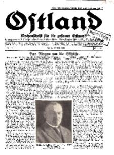 Ostland : Wochenschrift für die gesamte Ostmark, Jg. 11, 1930, Nr 20.