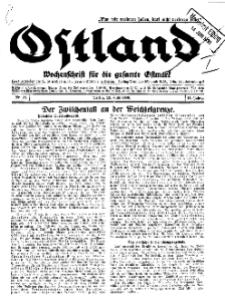 Ostland : Wochenschrift für die gesamte Ostmark, Jg. 11, 1930, Nr 24.