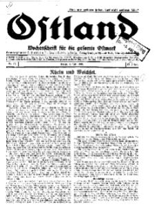 Ostland : Wochenschrift für die gesamte Ostmark, Jg. 11, 1930, Nr 27.