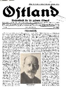 Ostland : Wochenschrift für die gesamte Ostmark, Jg. 11, 1930, Nr 30.