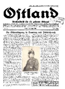 Ostland : Wochenschrift für die gesamte Ostmark, Jg. 11, 1930, Nr 33.