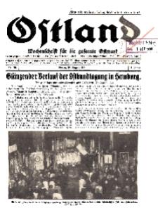 Ostland : Wochenschrift für die gesamte Ostmark, Jg. 11, 1930, Nr 35.