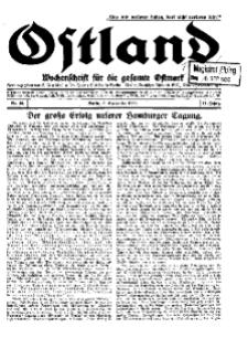 Ostland : Wochenschrift für die gesamte Ostmark, Jg. 11, 1930, Nr 36.