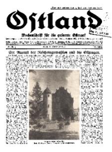 Ostland : Wochenschrift für die gesamte Ostmark, Jg. 11, 1930, Nr 38.
