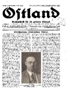 Ostland : Wochenschrift für die gesamte Ostmark, Jg. 11, 1930, Nr 42.