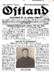 Ostland : Wochenschrift für die gesamte Ostmark, Jg. 11, 1930, Nr 43.