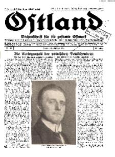 Ostland : Wochenschrift für die gesamte Ostmark, Jg. 11, 1930, Nr 44.