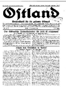 Ostland : Wochenschrift für die gesamte Ostmark, Jg. 11, 1930, Nr 45.