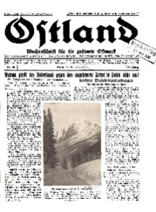 Ostland : Wochenschrift für die gesamte Ostmark, Jg. 11, 1930, Nr 48.