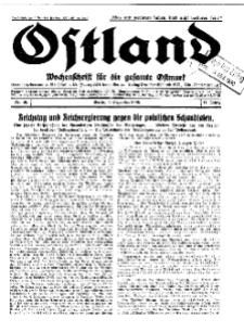 Ostland : Wochenschrift für die gesamte Ostmark, Jg. 11, 1930, Nr 49.