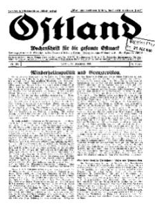 Ostland : Wochenschrift für die gesamte Ostmark, Jg. 11, 1930, Nr 52.