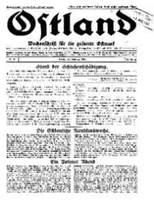 Ostland : Wochenschrift für die gesamte Ostmark, Jg. 12, 1931, Nr 9.