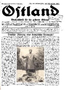 Ostland : Wochenschrift für die gesamte Ostmark, Jg. 12, 1931, Nr 30.