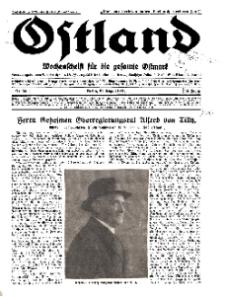 Ostland : Wochenschrift für die gesamte Ostmark, Jg. 12, 1931, Nr 34.