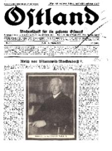 Ostland : Wochenschrift für die gesamte Ostmark, Jg. 12, 1931, Nr 40.