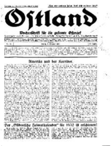 Ostland : Wochenschrift für die gesamte Ostmark, Jg. 12, 1931, Nr 41.