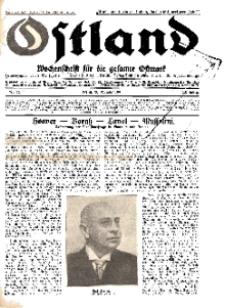 Ostland : Wochenschrift für die gesamte Ostmark, Jg. 12, 1931, Nr 44.