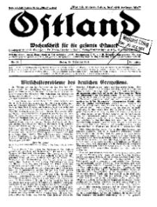 Ostland : Wochenschrift für die gesamte Ostmark, Jg. 12, 1931, Nr 51.