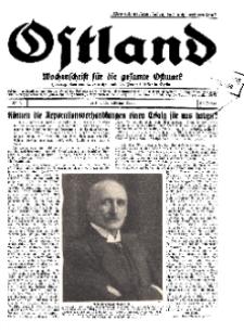 Ostland : Wochenschrift für die gesamte Ostmark, Jg. 10, 1929, Nr 7.