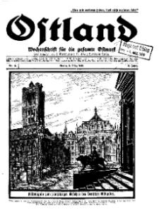 Ostland : Wochenschrift für die gesamte Ostmark, Jg. 10, 1929, Nr 10.
